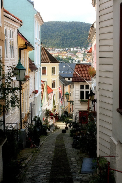 Nordnes, Bergen, Norway. Deep down in my heart this is my home.
