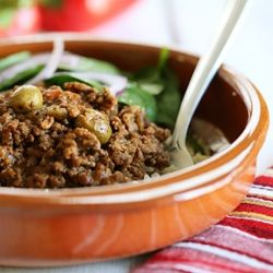 Crock Pot Picadillo- this bold and flavorful Cuban dish is one that ...