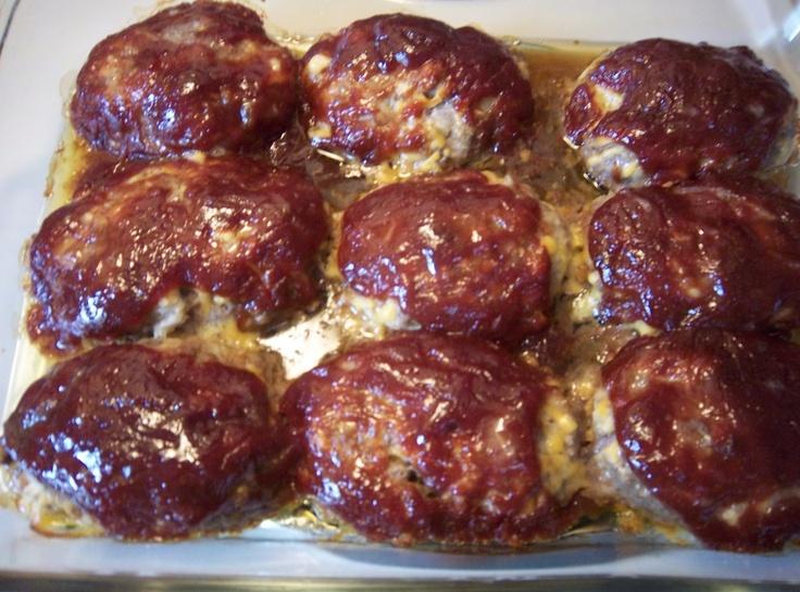 Li'l Cheddar Meat Loaves | Cat's Dinner Recipes | Pinterest
