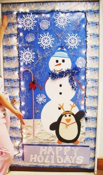 Funny Christmas Door Decorating Ideas | Christmas Door Decorating ...