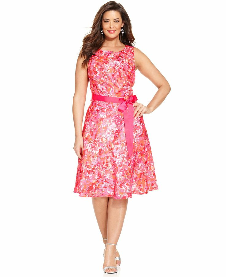 plus length dresses eshakti