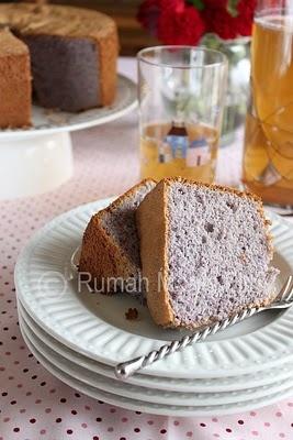 Purple Yam (Ubee) Chiffon Cake | Black Pineapple | Pinterest