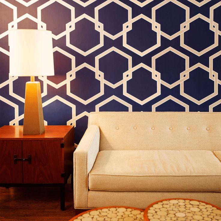Tempaper // Honeycomb Removable Wallpaper