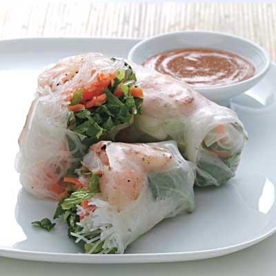 Shrimp Summer Rolls (Budget recipes) mmmm