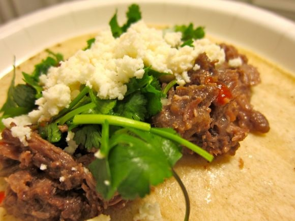 Shredded beef tacos from Angela is Here | Recipes | Pinterest