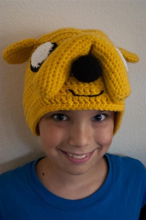 Yellow Dog Jake the Dog Hat Adventure Time Inspired by ShopEffie, $35