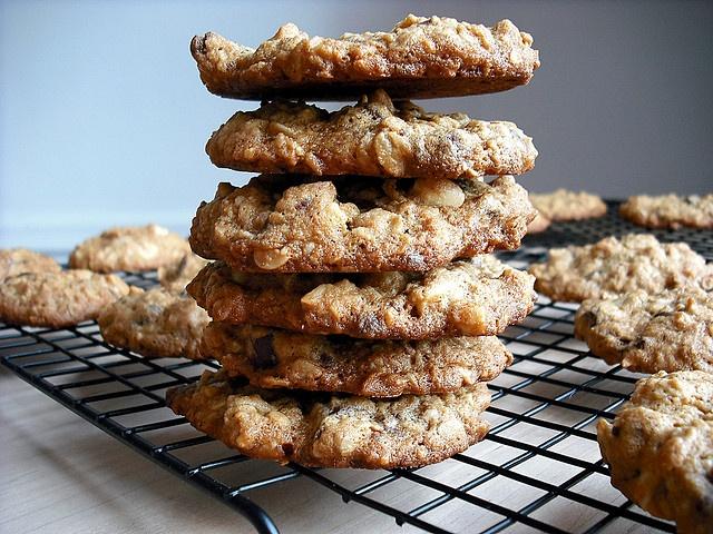 Peanut Butter Oatmeal Chocolate Chunk Cookies by adashofsass, via ...