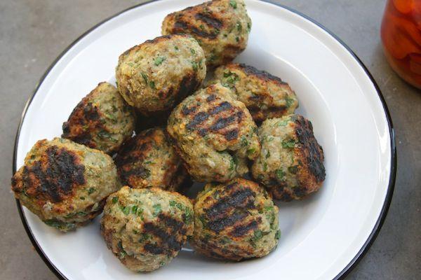 Grilled Turkey Meatballs | Dinner | Pinterest