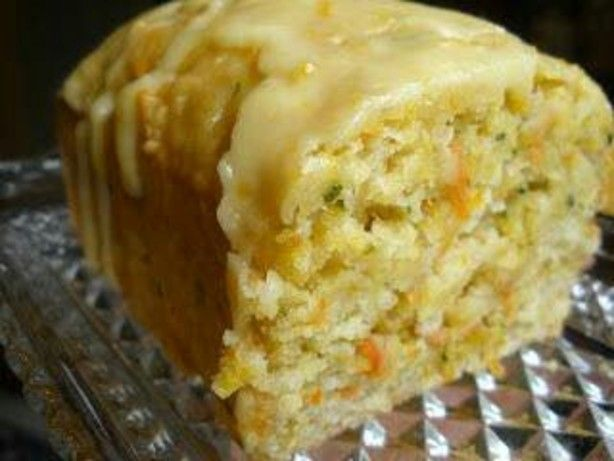 Zucchini Orange Bread -- 2 loaves; perhaps replace oil with applesauce ...
