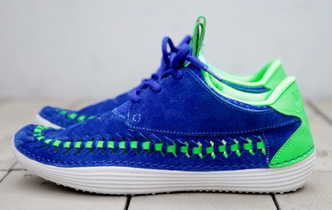 "Nike Solarsoft Moccasin Woven ""Sprite"""