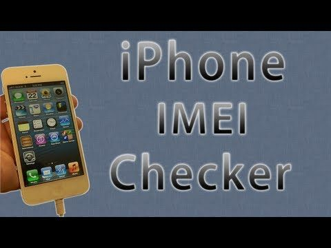 track iphone 5 with imei number