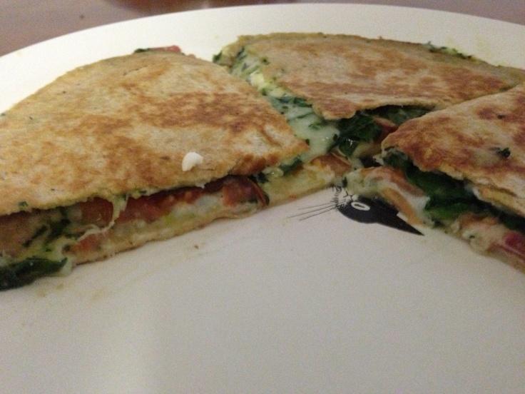 spinach feta quiche spinach and feta quesadillas spinach and feta ...