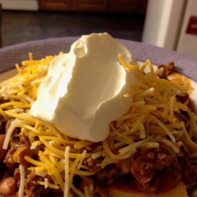 Cornbread Chili Cheese Surprise | Recipes | Pinterest