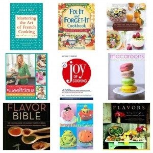 I love cookbooks.  Wouldn't you like to celebrate the New Year by winning a fantastic collection of nine cookbooks valued at over 200 dollars?  Enter to win the giveaway which ends on 1/31/13.  Good luck!