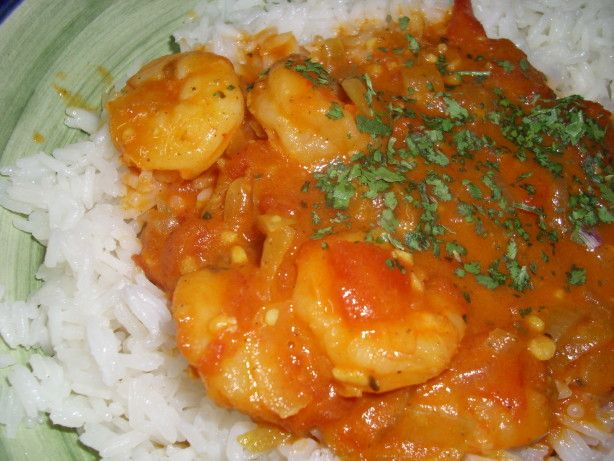Spicy Shrimp In Coconut Milk--omit water, cut back on coconut for ...