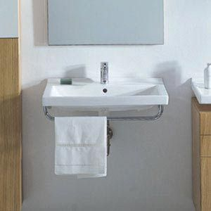 small wall hung sink bath remodel pinterest