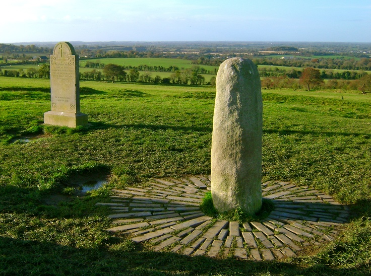 """The legendary Lia Fáil (""""Stone of Destiny"""") for which the High Kings were crowned at the Hill of Tara!"""