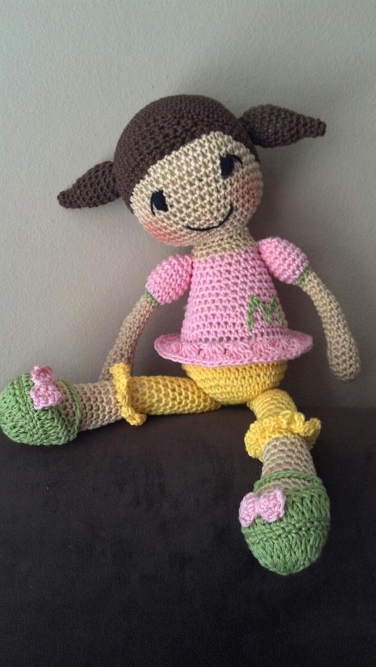 Crochet Patterns On Pinterest : Marianne... crocheted dolls Pinterest