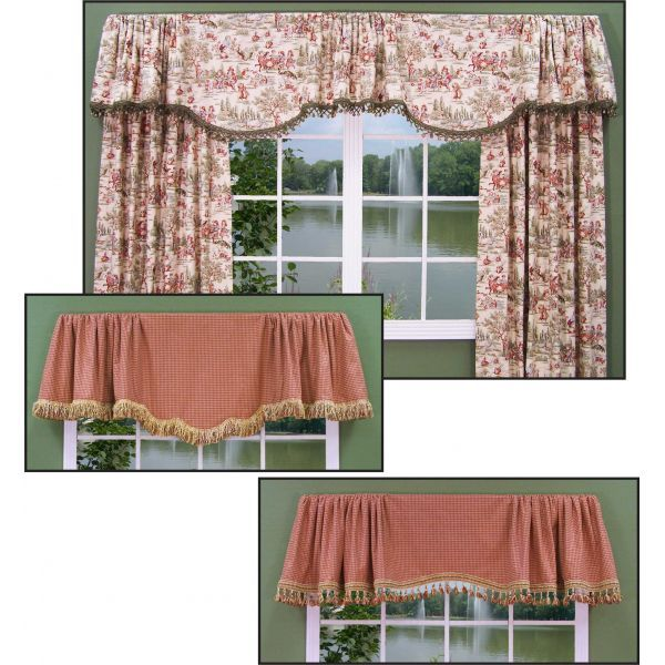 Two Valance Styles Fit Any Size Window Window