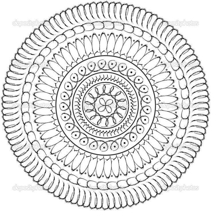 sacred mandala coloring pages - photo#8