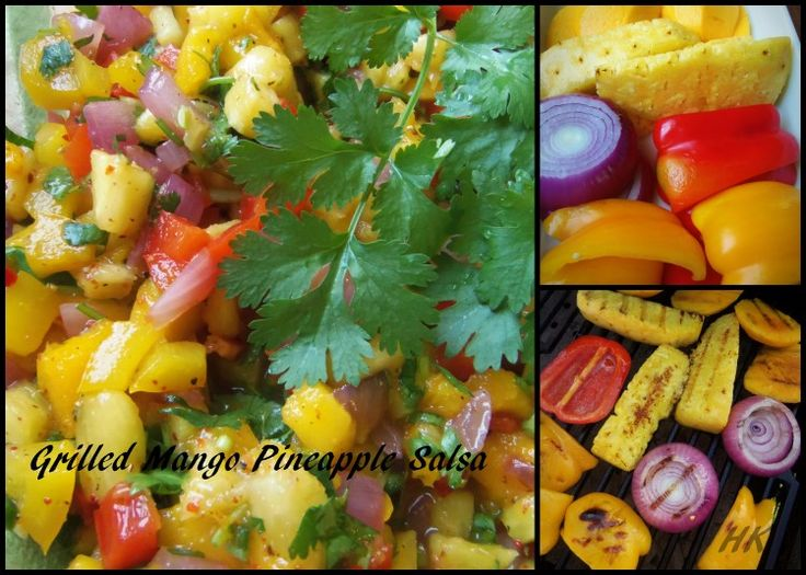 Jamaican Jerk Salmon And Mango Pineapple Salsa Recipe ...