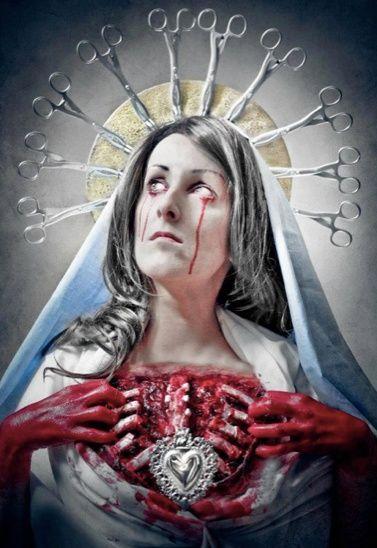 Virgin mary blessed virgin mary pinterest