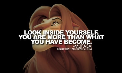 Lion King Movie Quotes Tumblr Mufasa Lion King Quote...