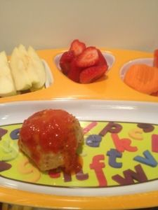 """Cheesy"""" Chicken Meatballs. 