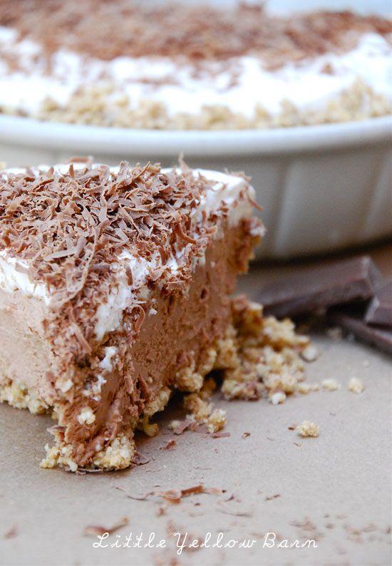 Chocolate Mousse Pie | Pies | Pinterest