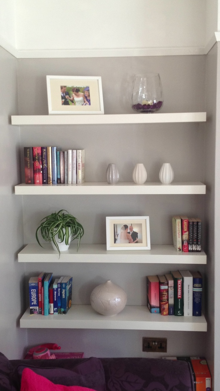 alcove shelving in the lounge decorating ideas pinterest