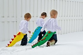 Dinosaur tails -- Christmas present for the boys?