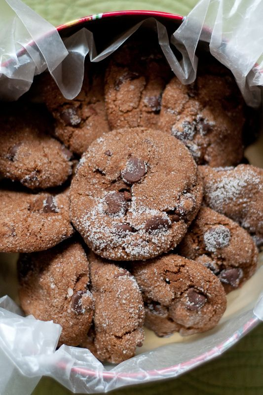 Chewy Chocolate Gingerbread Cookies Cafe Johnsonia: #Vegan #Gluten ...