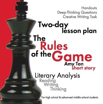 rules of the game essay amy tan By: amy tan rules of the game exposition falling action resolution michael herreid olivia hendershot reilly kuhn brennen knox roren finney lacey flood.