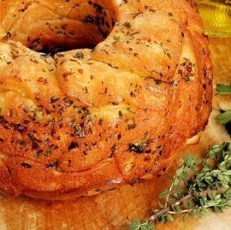 Savory monkey bread I will make my own dough and use this recipe to ...
