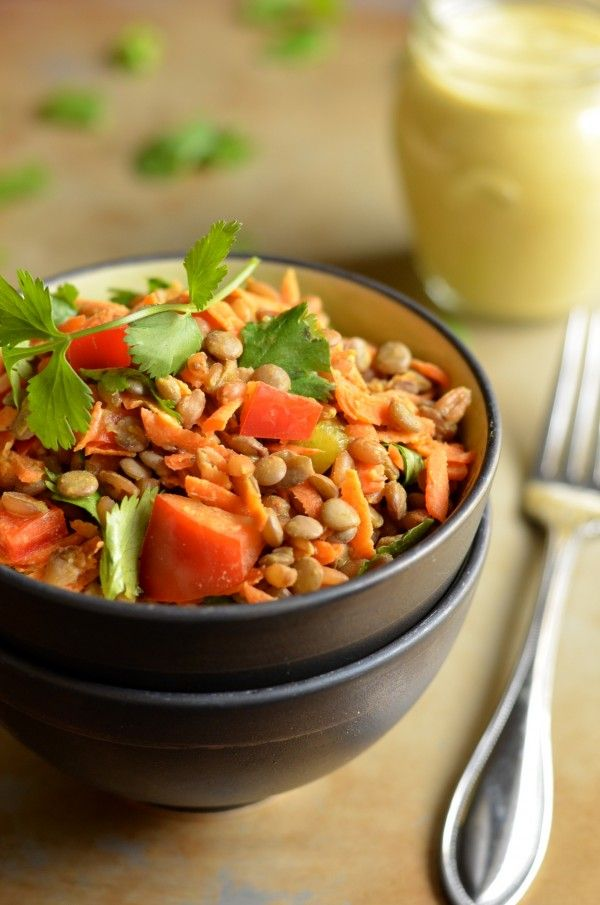 Warm Curry Salad - replace wheat berries with quinoa