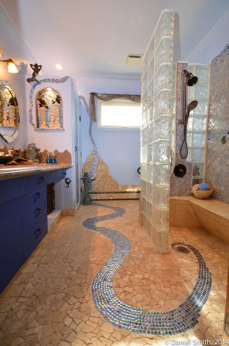 Mermaid Tile Bathroom
