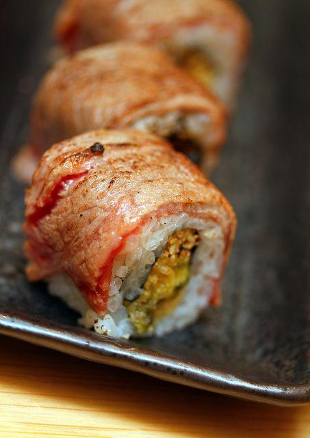 Moeyo Beef Roll | Food: Sushi, Sashimi | Pinterest