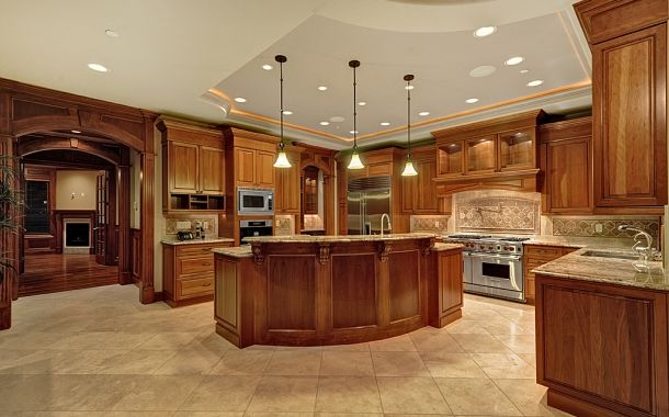 kitchen cabinets  Kitchens Fit for a King  Pinterest