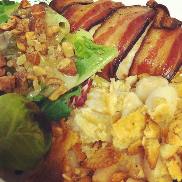 Bacon Gorgonzola Chicken Salad Recipe — Dishmaps