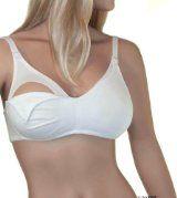Lamaze Cotton Spandex Comfort Nursing Bra at Amazon Women s Clothing
