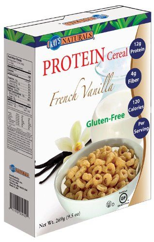 Gluten Free High Protein Honey Almond Cereal - YAY! I can have cereal ...
