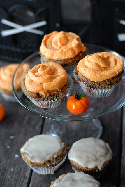 ... Spice Cupcakes with Bourbon-Orange Glaze or Cream Cheese frosting