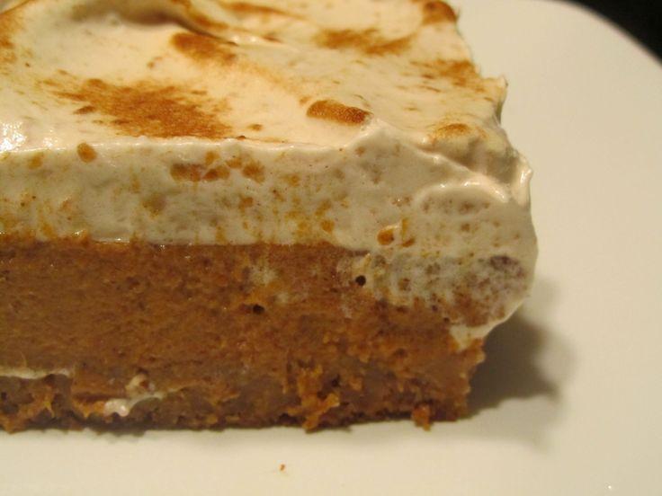 pumpkin pie bars.   Food!!   Pinterest