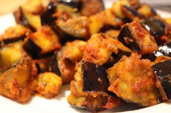 Spicy Eggplant Salad | yumm | Pinterest