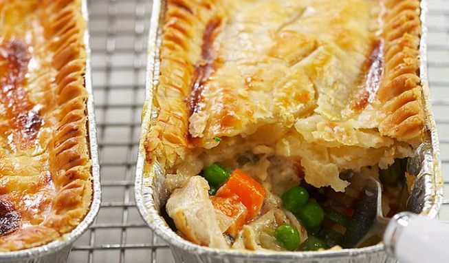Freezer Chicken Pot Pies: Make-ahead chicken pot pies that will fulfill a hankering, whenever they strike.