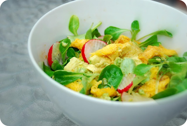 ... Bacon Eating Jewish Vegetarian: Spring Fresh (Avocado & Mango Salad