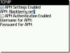 setting up the blackberry monitoring service