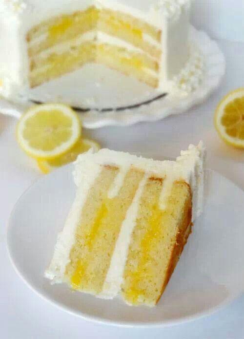 triple lemon cake | Cake n' Icing | Pinterest