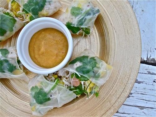 Cambodian-Style Spring Rolls | Recipe