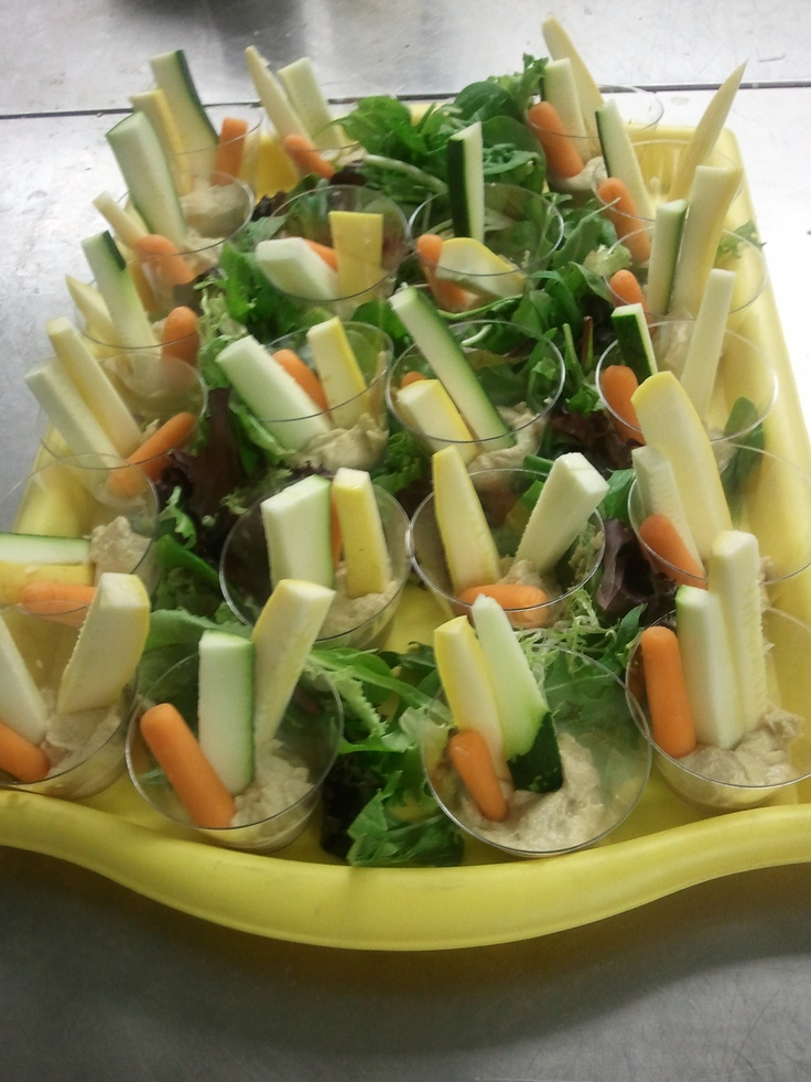 Veggie Shooters (Crudites With Skinny Ranch Dip) Recipes ...